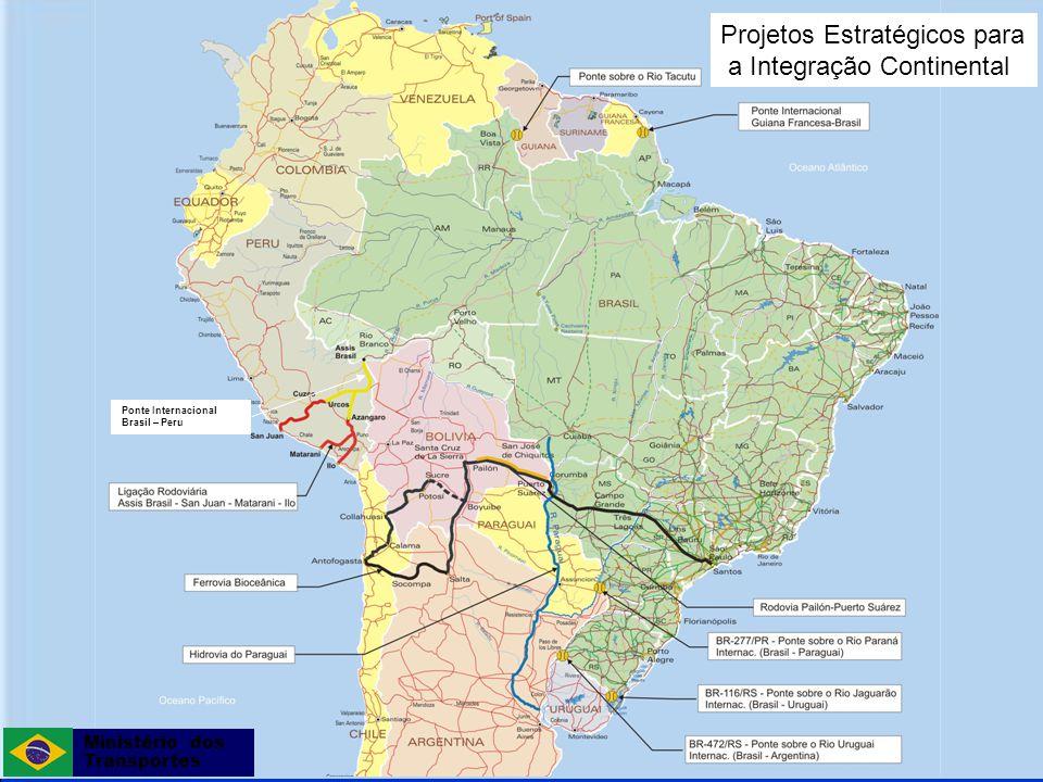Projetos Estratégicos para a Integração Continental