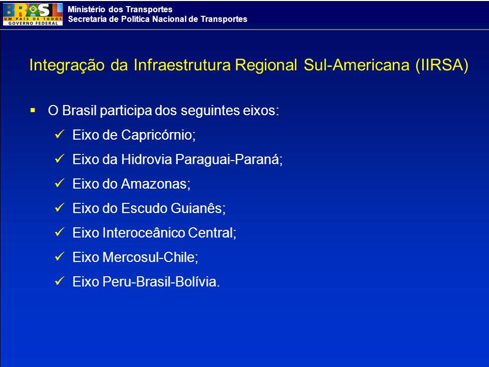 Integração da Infraestrutura Regional Sul-Americana (IIRSA)