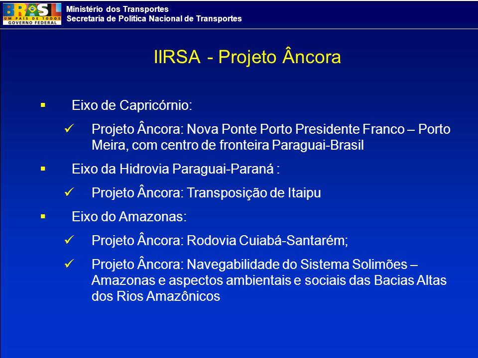 IIRSA - Projeto Âncora Eixo de Capricórnio: