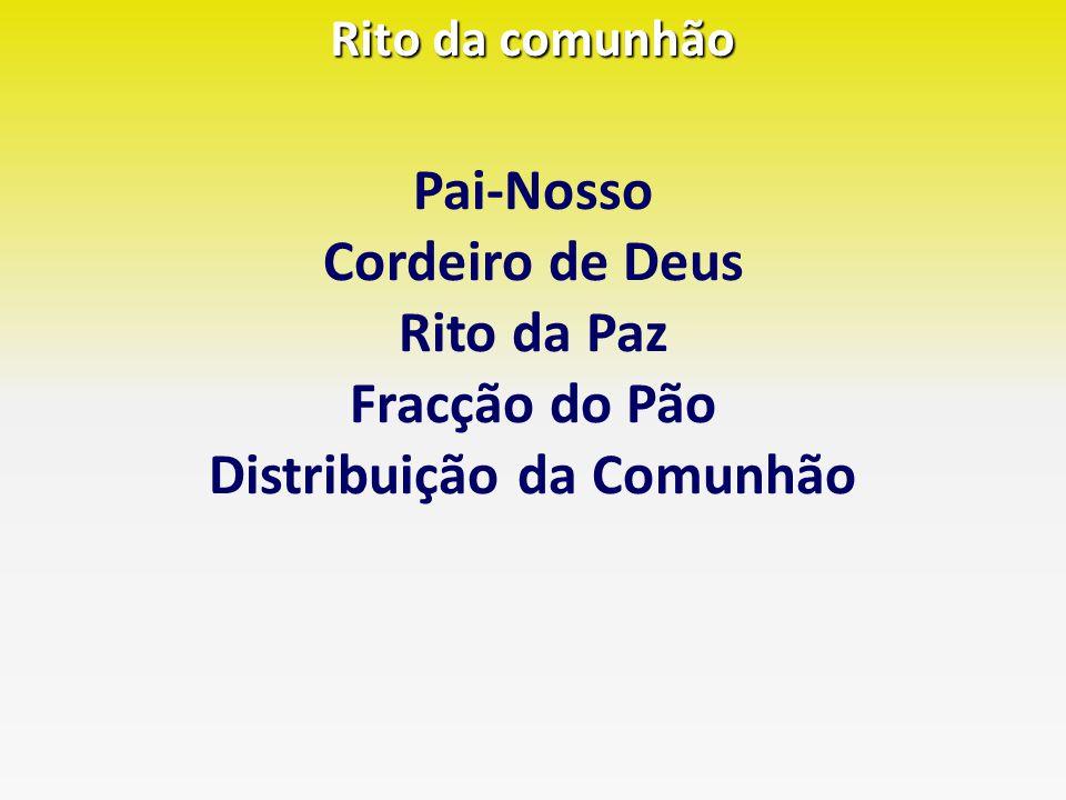 Distribuição da Comunhão
