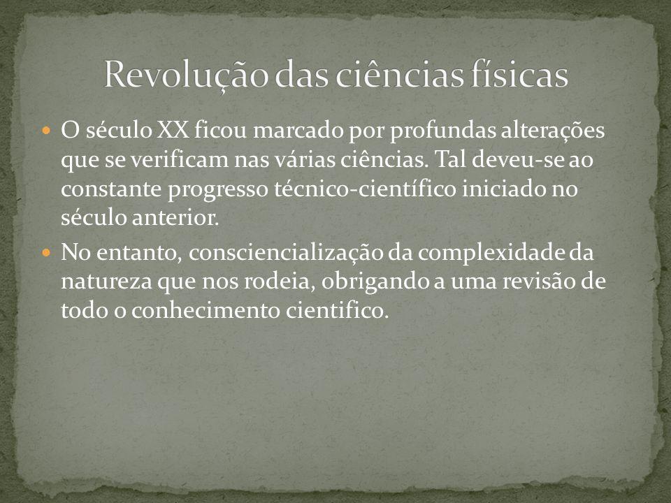 Revolução das ciências físicas