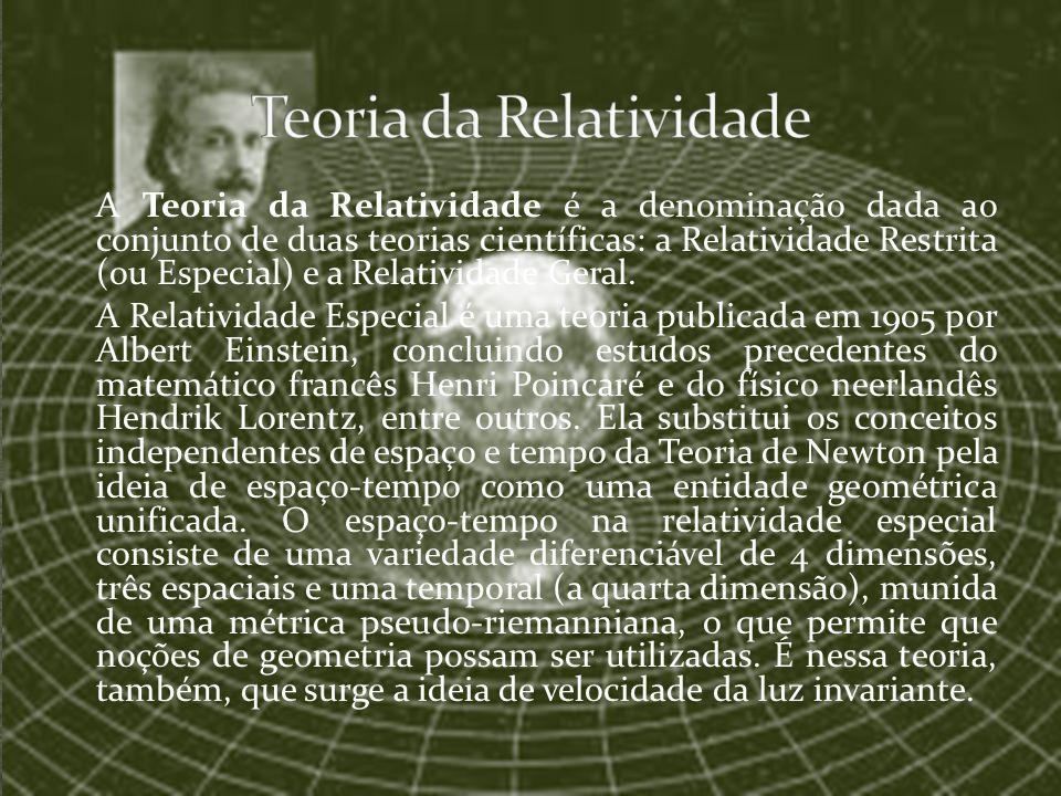 Teoria da Relatividade
