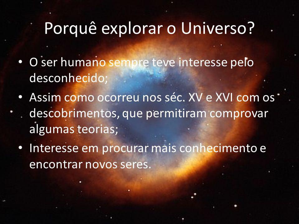 Porquê explorar o Universo