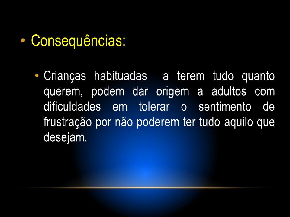 Consequências: