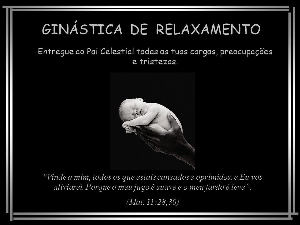 GINÁSTICA DE RELAXAMENTO