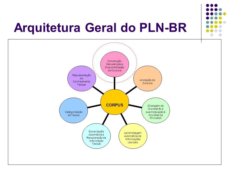 Arquitetura Geral do PLN-BR