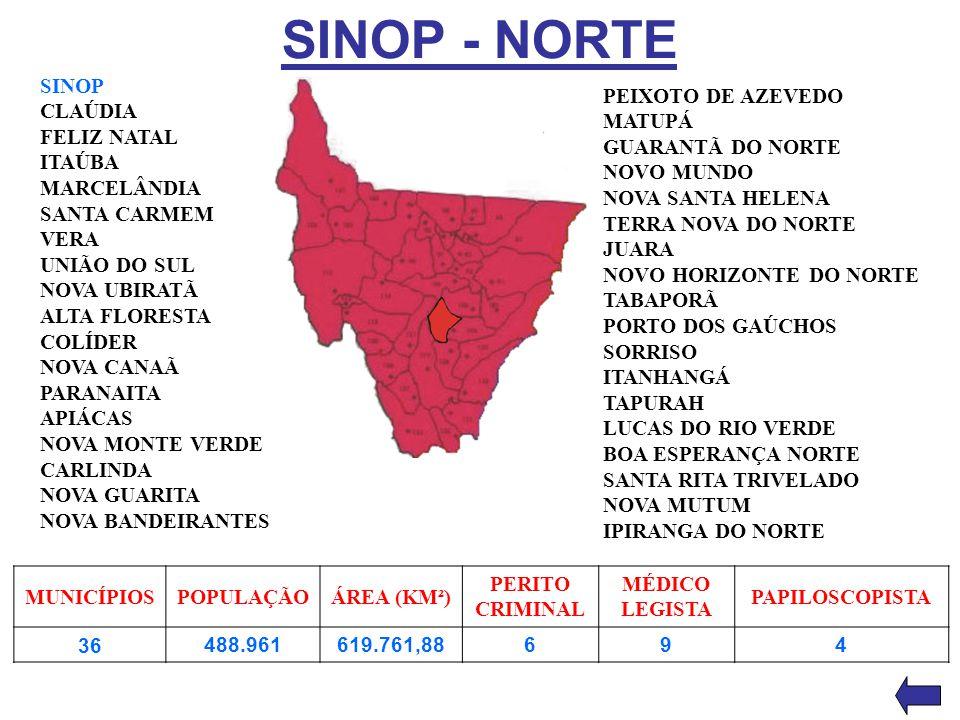 SINOP - NORTE SINOP CLAÚDIA FELIZ NATAL ITAÚBA MARCELÂNDIA