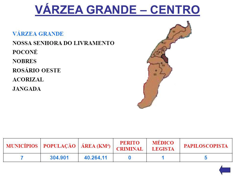 VÁRZEA GRANDE – CENTRO VÁRZEA GRANDE NOSSA SENHORA DO LIVRAMENTO