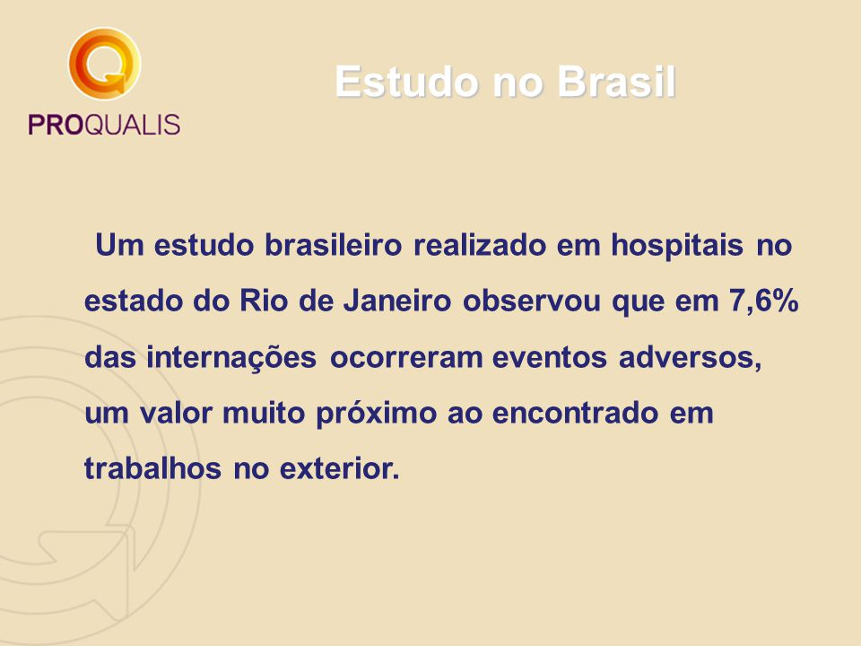 Estudo no Brasil