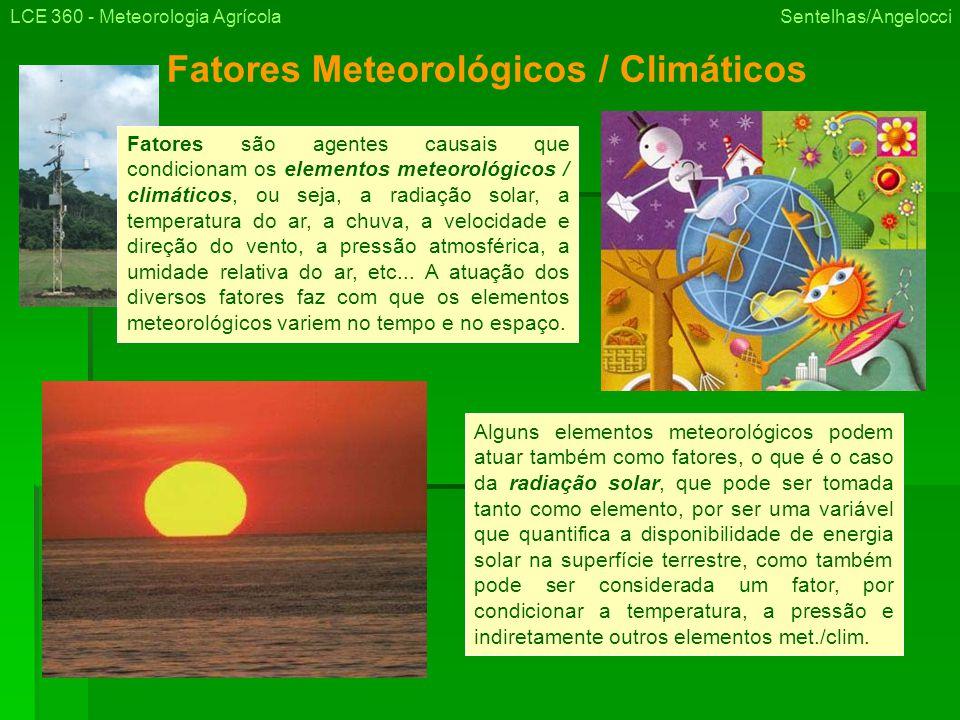 Fatores Meteorológicos / Climáticos