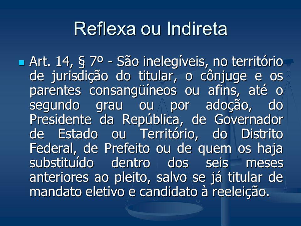 Reflexa ou Indireta
