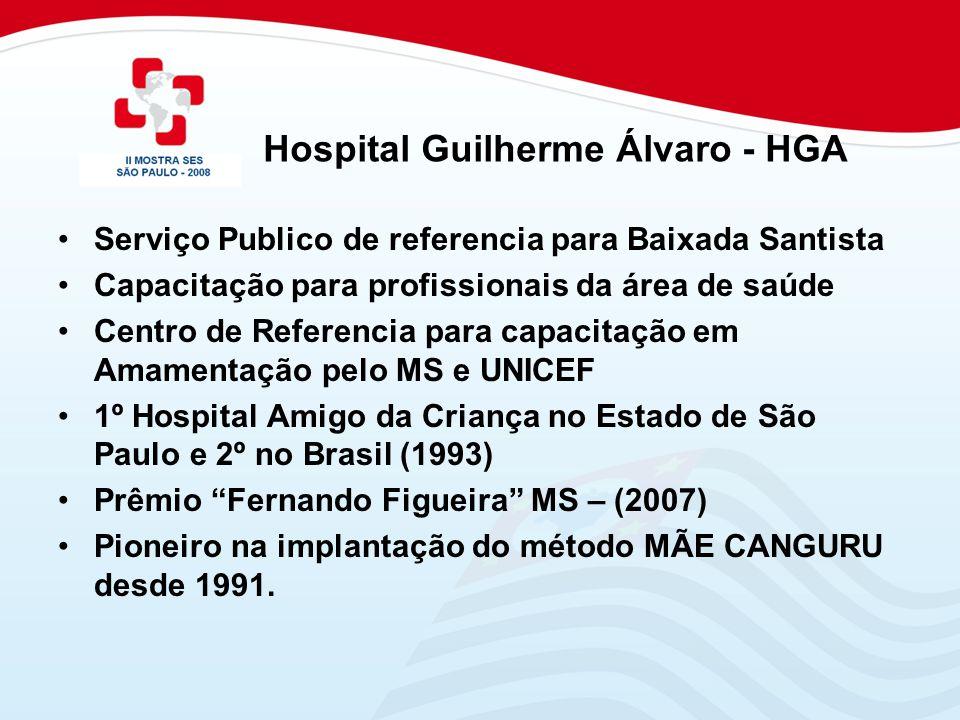 Hospital Guilherme Álvaro - HGA