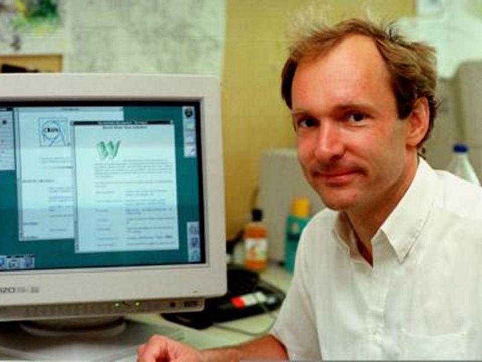 Web em 1989 Nesse ano, Tim Berners-Lee inventa a Web Passado