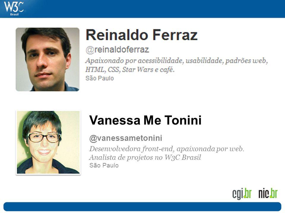 Vanessa Me Tonini @vanessametonini