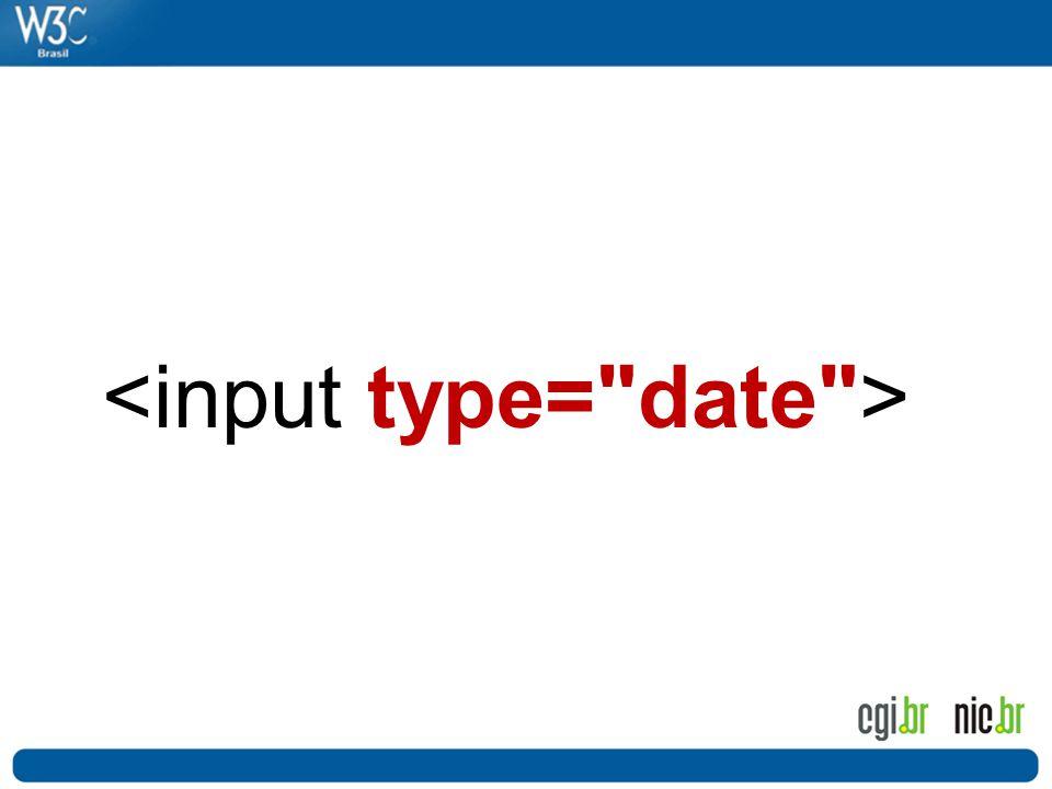 <input type= date >