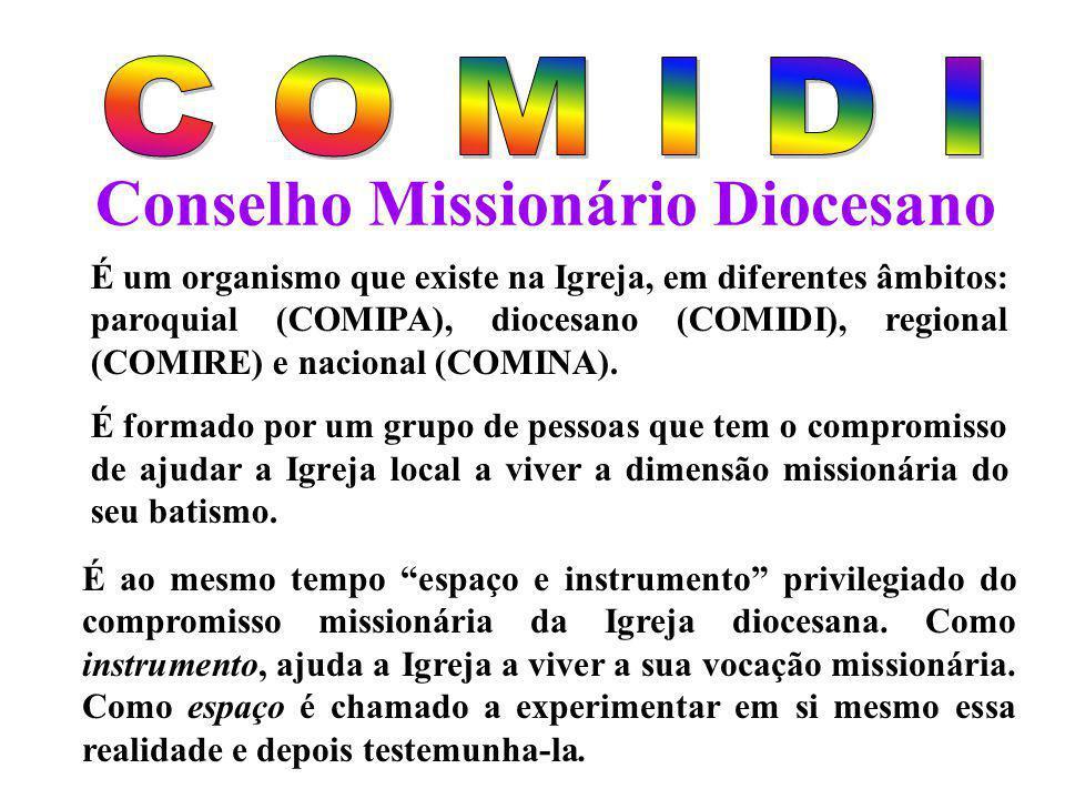 Conselho Missionário Diocesano