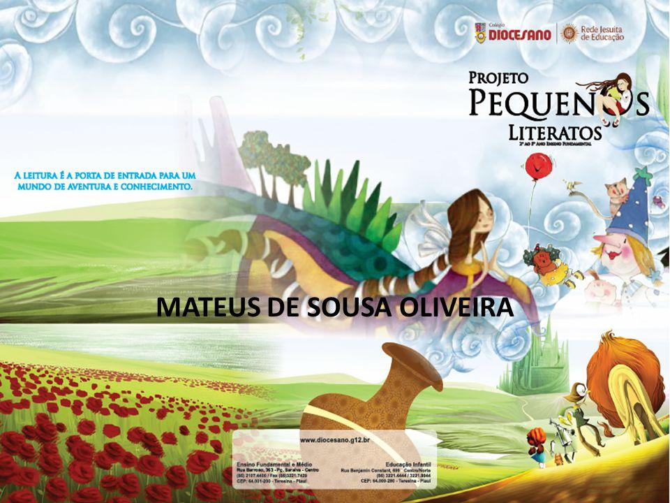 MATEUS DE SOUSA OLIVEIRA
