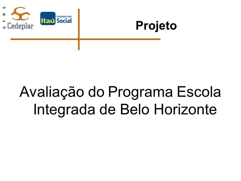 Avaliação do Programa Escola Integrada de Belo Horizonte