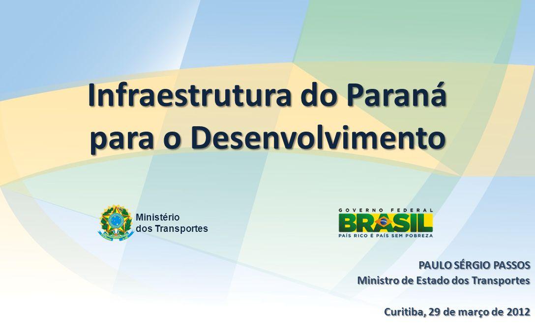 Infraestrutura do Paraná para o Desenvolvimento