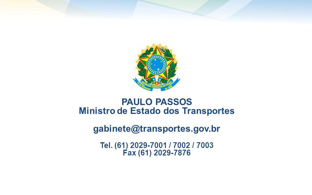 Ministro de Estado dos Transportes