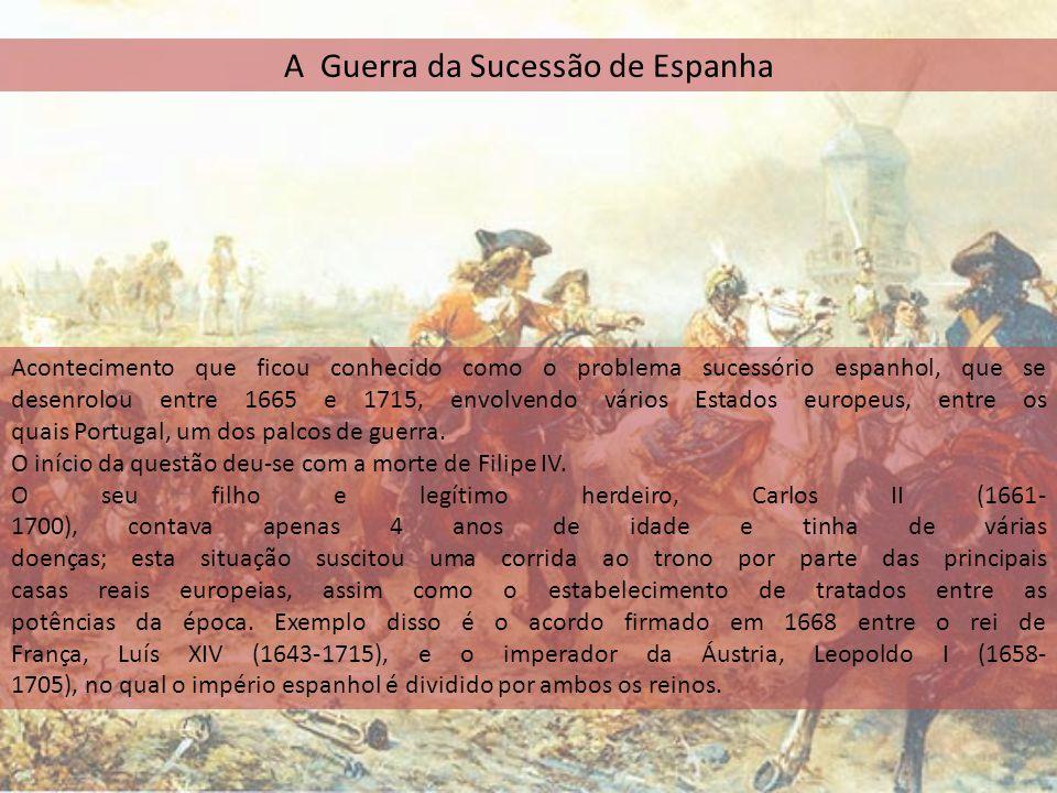 A Guerra da Sucessão de Espanha