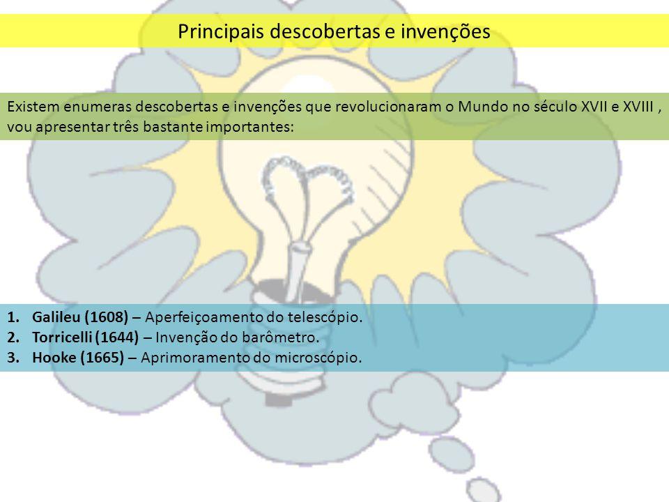 Principais descobertas e invenções