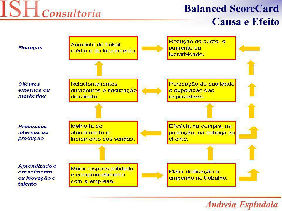 Balanced ScoreCard Causa e Efeito