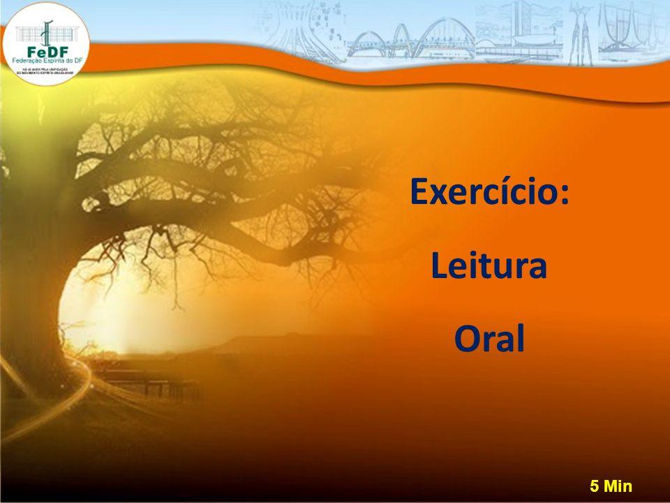 Exercício: Leitura Oral