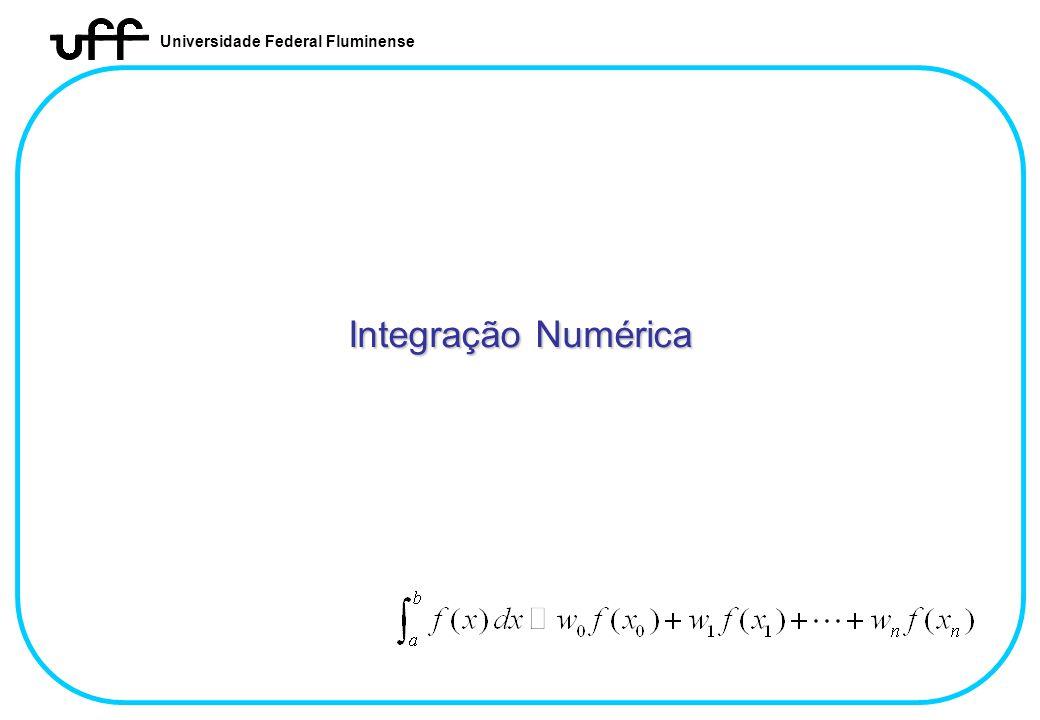 Integração Numérica Integração Numérica