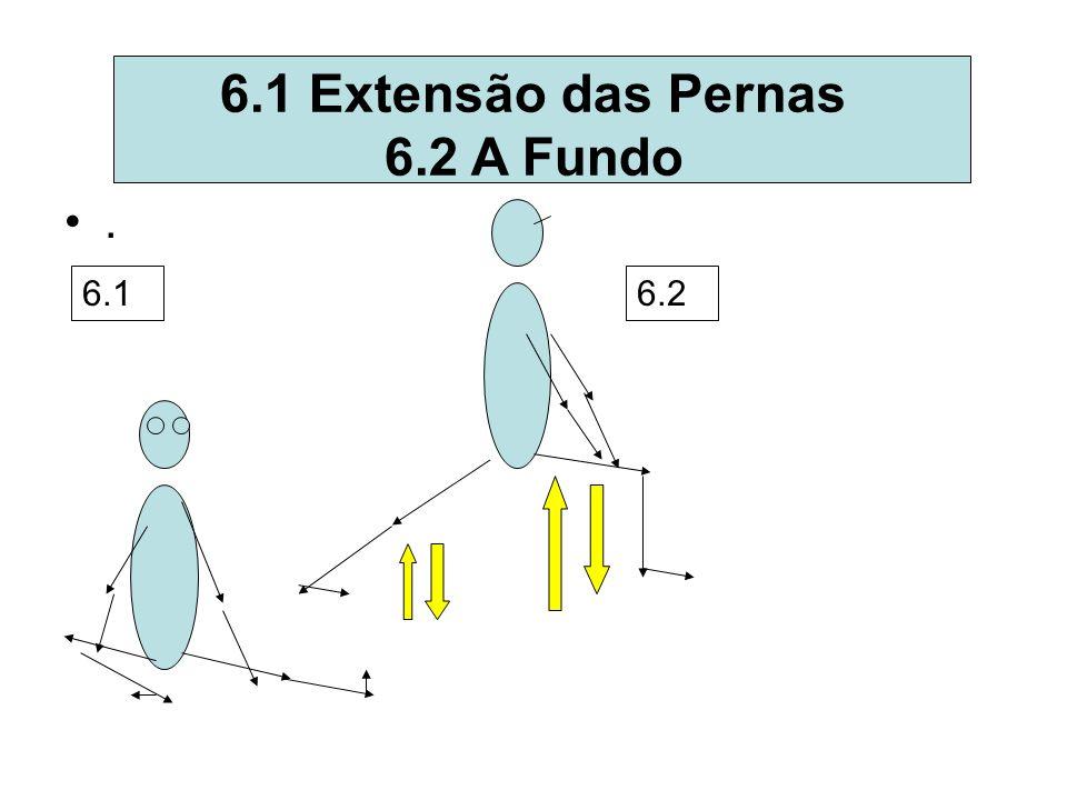 6.1 Extensão das Pernas 6.2 A Fundo