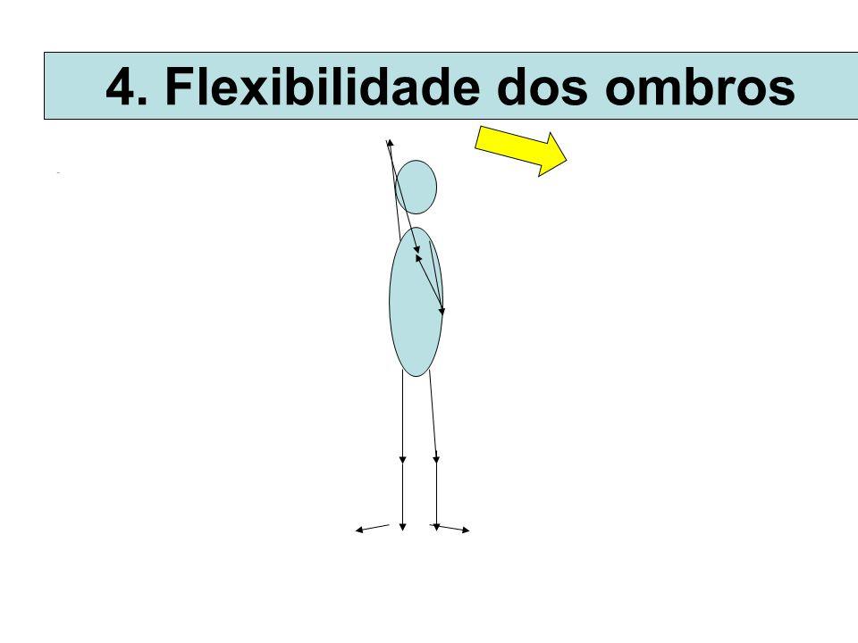 4. Flexibilidade dos ombros