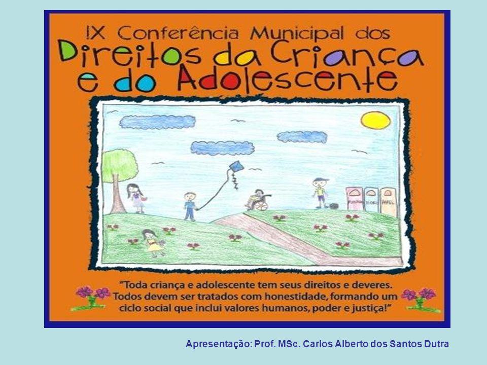Apresentação: Prof. MSc. Carlos Alberto dos Santos Dutra