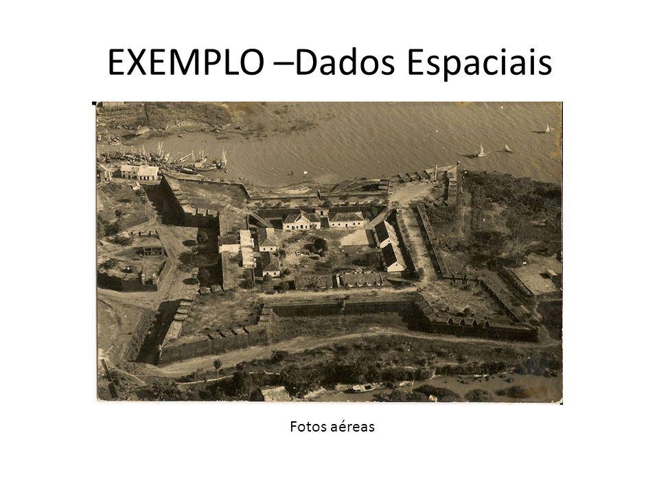 EXEMPLO –Dados Espaciais