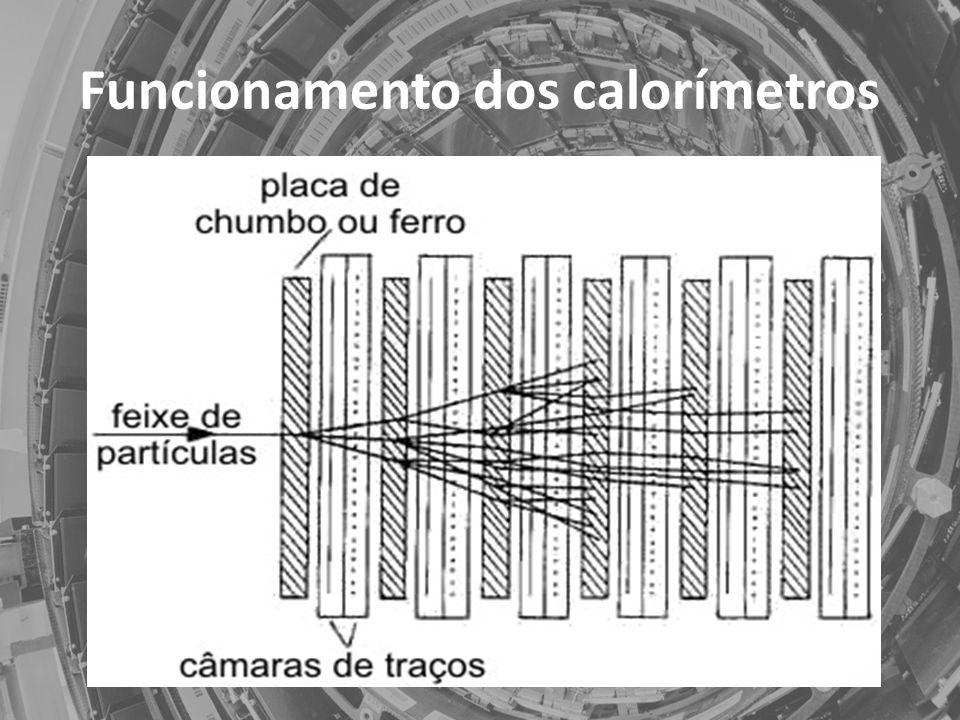 Funcionamento dos calorímetros