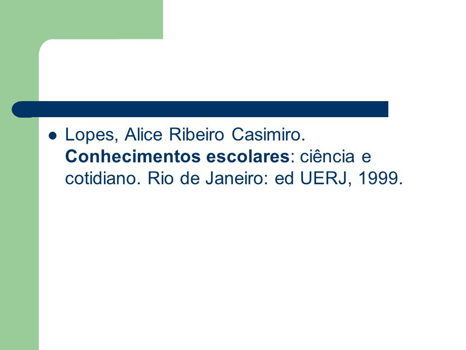 Lopes, Alice Ribeiro Casimiro