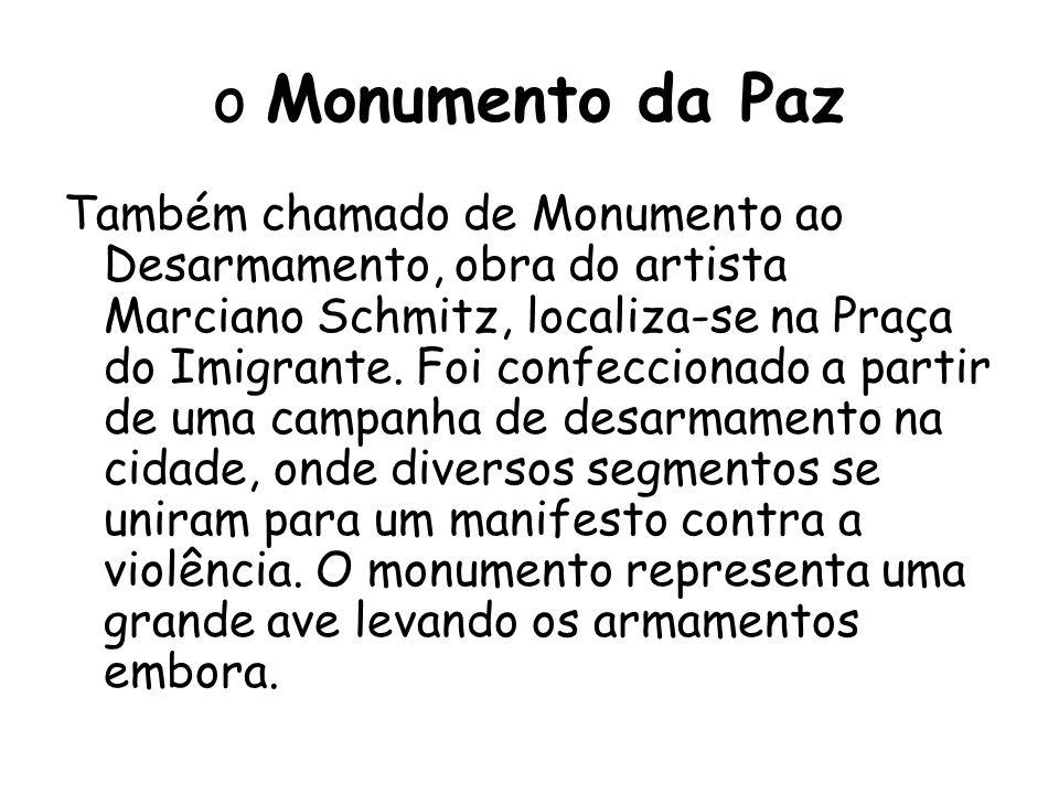 o Monumento da Paz