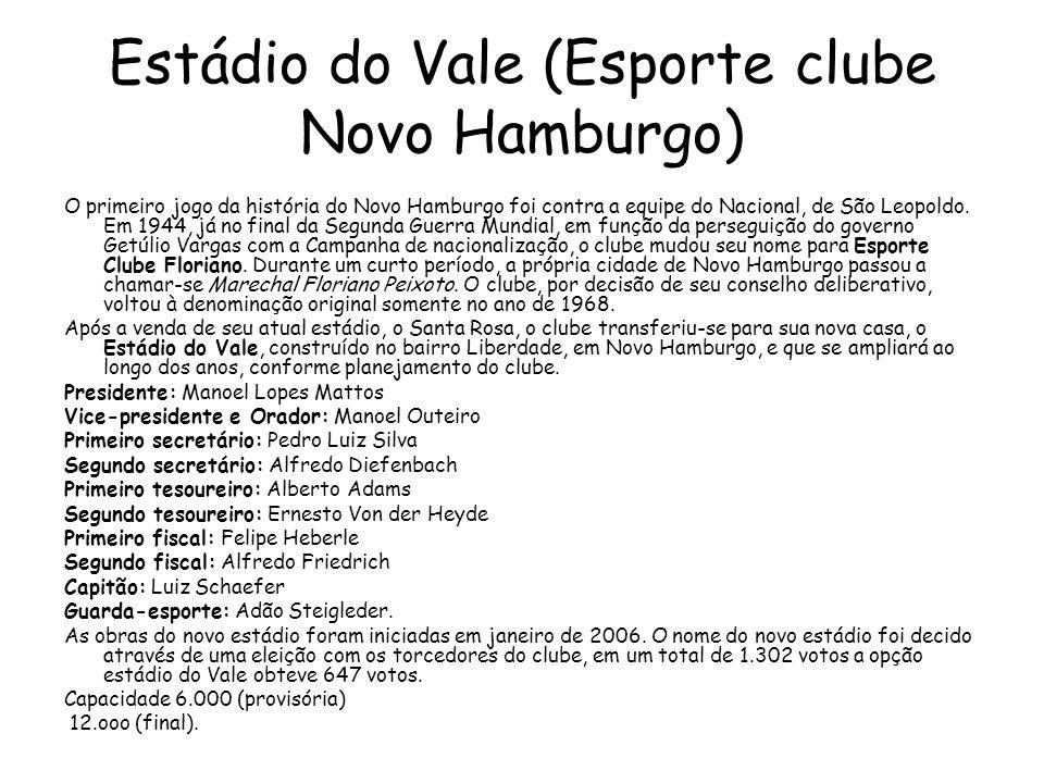 Estádio do Vale (Esporte clube Novo Hamburgo)