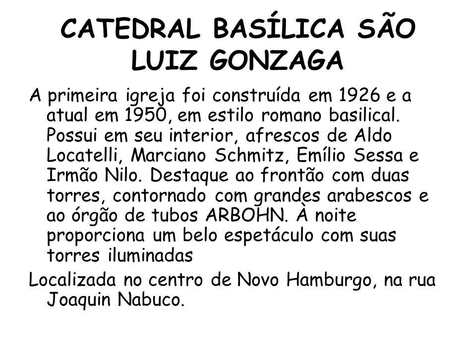 CATEDRAL BASÍLICA SÃO LUIZ GONZAGA