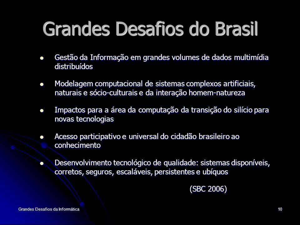 Grandes Desafios do Brasil