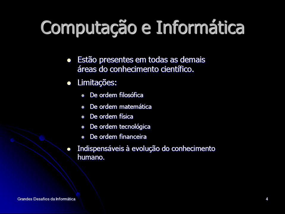 Computação e Informática