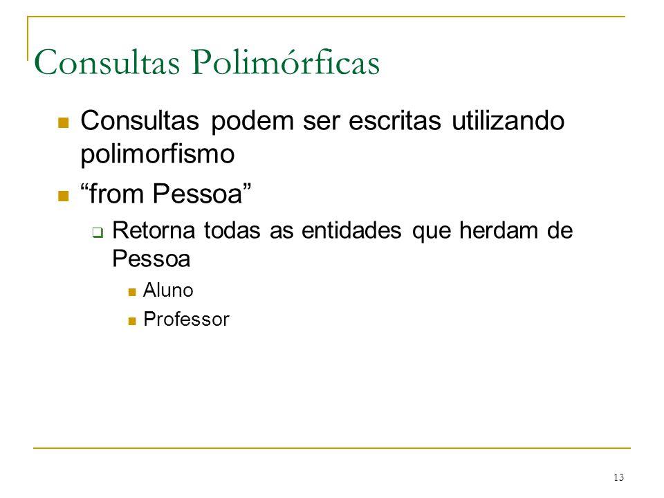 Consultas Polimórficas