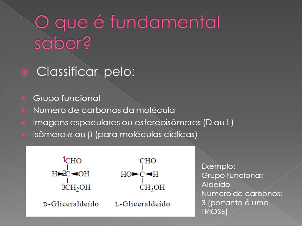 O que é fundamental saber