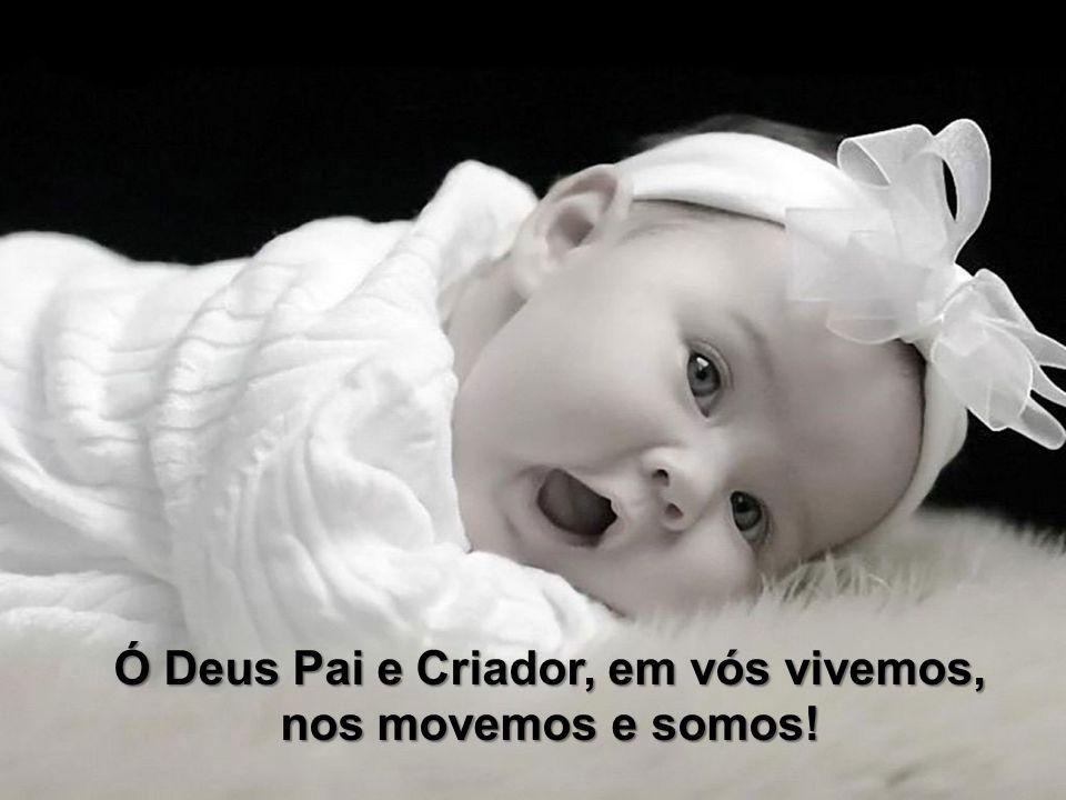 Ó Deus Pai e Criador, em vós vivemos, nos movemos e somos!