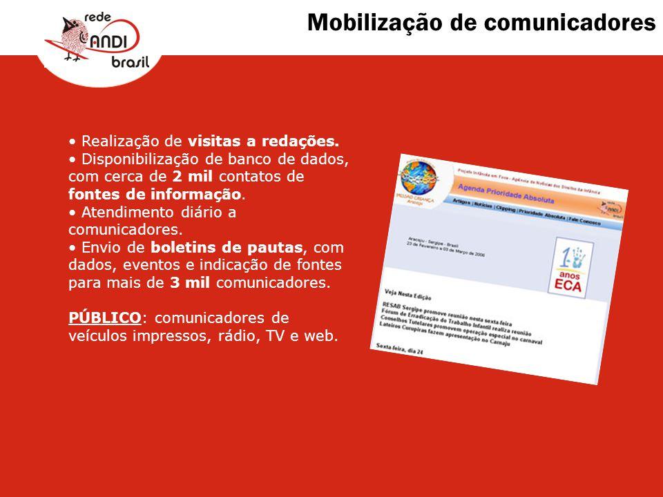 Mobilização de comunicadores