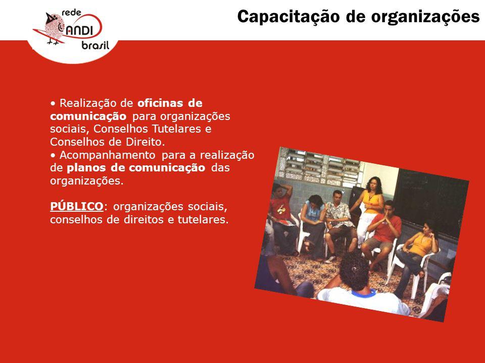 Capacitação de organizações