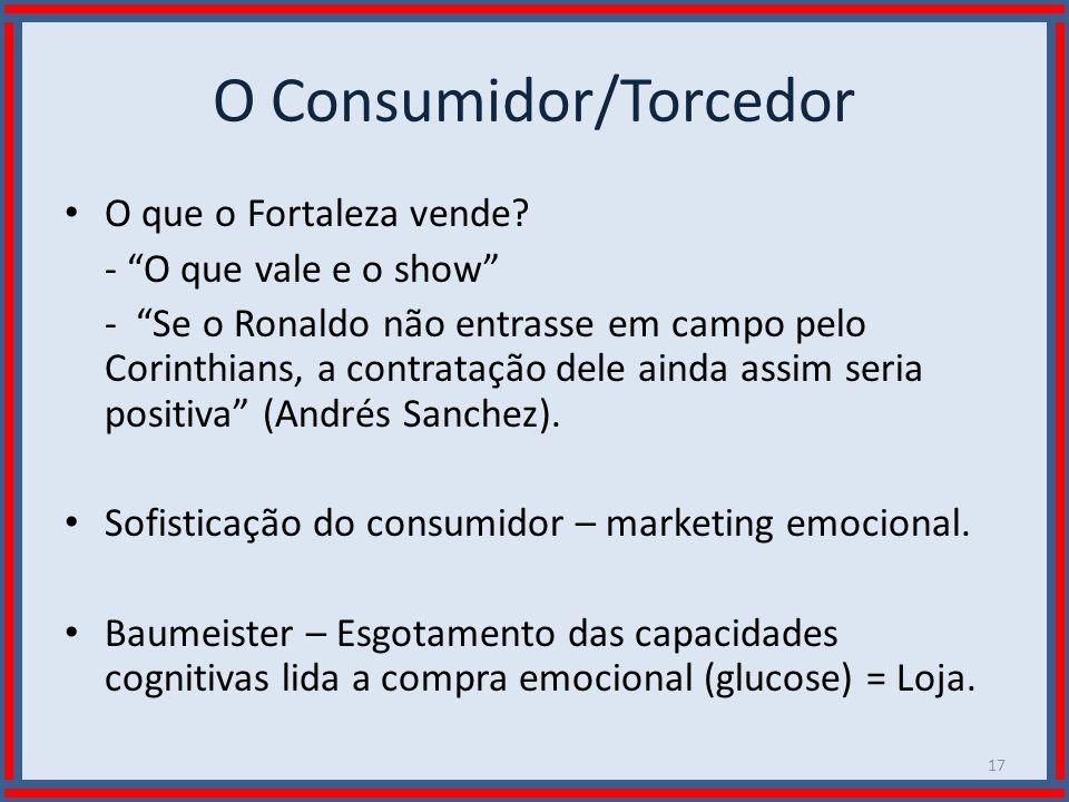 O Consumidor/Torcedor