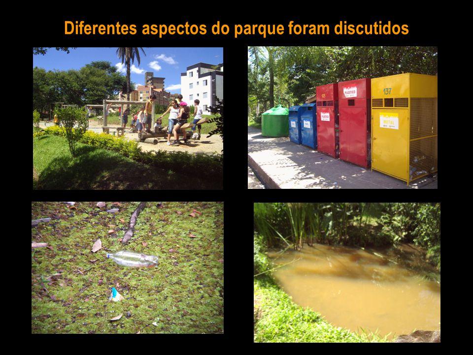 Diferentes aspectos do parque foram discutidos