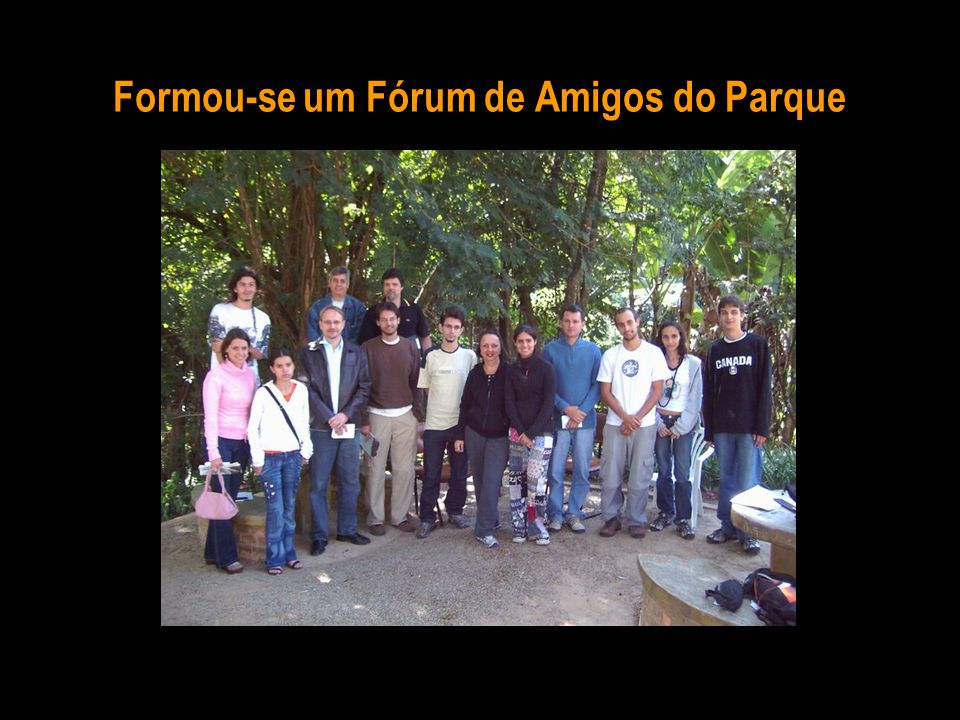 Formou-se um Fórum de Amigos do Parque