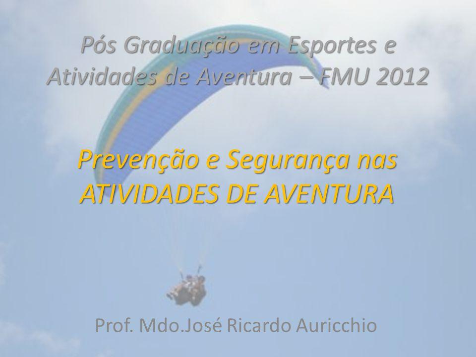 Pós Graduação em Esportes e Atividades de Aventura – FMU 2012