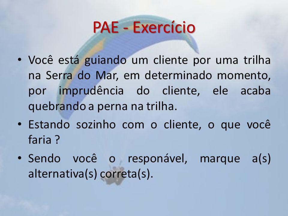 PAE - Exercício